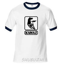 Kamaz Truck Man T-Shirt Raglan Fashion Car Brand Mens T Shirt Men Tshirt Hip Hop Funny Cotton Brand Clothing