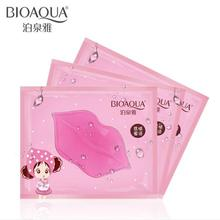 5Pcs Lip Mask Collagen Crystal Anti Ageing Membrane Moisture Essence Lip Mask