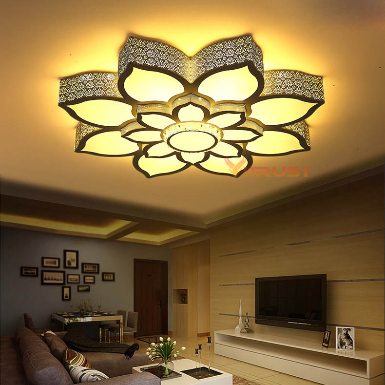 Crystal LED Chandelier Ceiling Lamp House Decoration Lighting Fixture For Indoor Surface Mounting Simple Decoration LED Lamp new 20cm led crystal ceiling 1 light fixture pin lamp lighting prizm chandelier