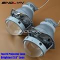 SINOLYN Car Styling Nueva Calidad Superior 3.0 Lentes Retrofit HID Bi xenon Lente Del Proyector Del Faro H4 Super Brillante, uso D2S D2H Bombillas