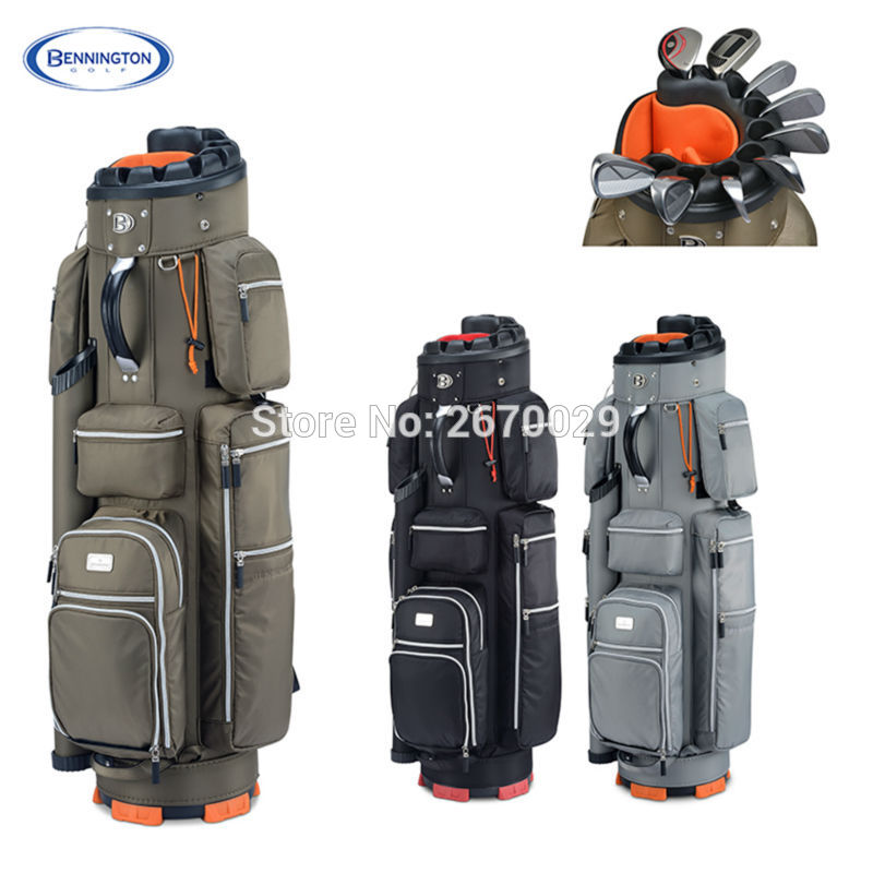 High Quality Bennington Golf bag Men's Espresso  Cart bag  A Specialist of  Golf Clubs Protection  EMS Free shipping top quality dragon golf club set bag sport golf clubs bag high grade pu golf bags practice golf sets 3 colors are available