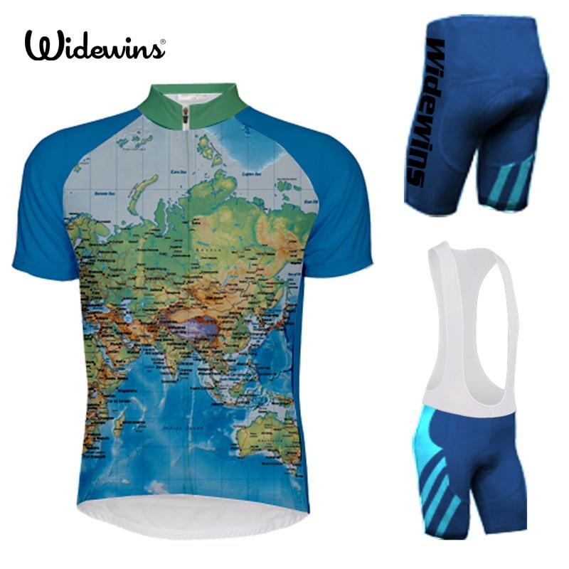 CYCLIST Sports Wear Mens Cycling Jersey Cycling Clothing Bike Shirt 2XS 6XL Travel around the world