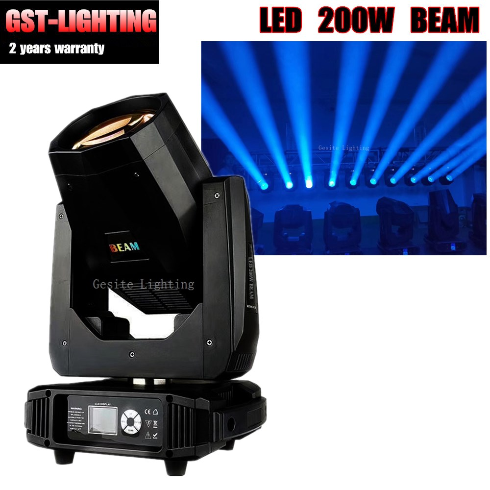 2 piece Professional lighting pro led 200w disco moving head light beam 200 5r led