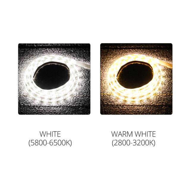 12V LED Under Cabinet Lights PIR Infrared Motion Sensor Under Bed Closet Wardrobe Night Light 1M-5M Auto On/Off LED Strip