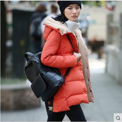 2016 new hot winter Warm woman Down jacket Coat Parkas Outerwear Straight Slim Mid long plus size 3XXXL Loose Cold Luxury