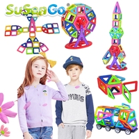Toy Mini Colorful Magnetic Designer Kits 3D Building Blocks DIY Educational Kids Toys For Children Toddler