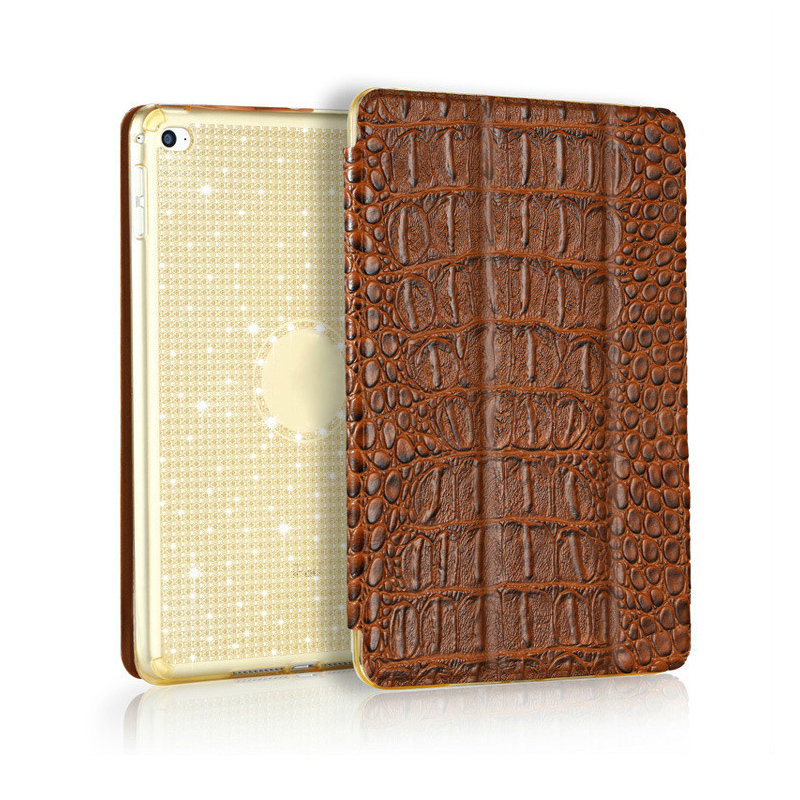 for iPad 9.7 2017 Case Good Quality Smart PU Leather Sleeve for iPad 9.7 inch 2017 2018 Model Shining TPU Back Cover Case
