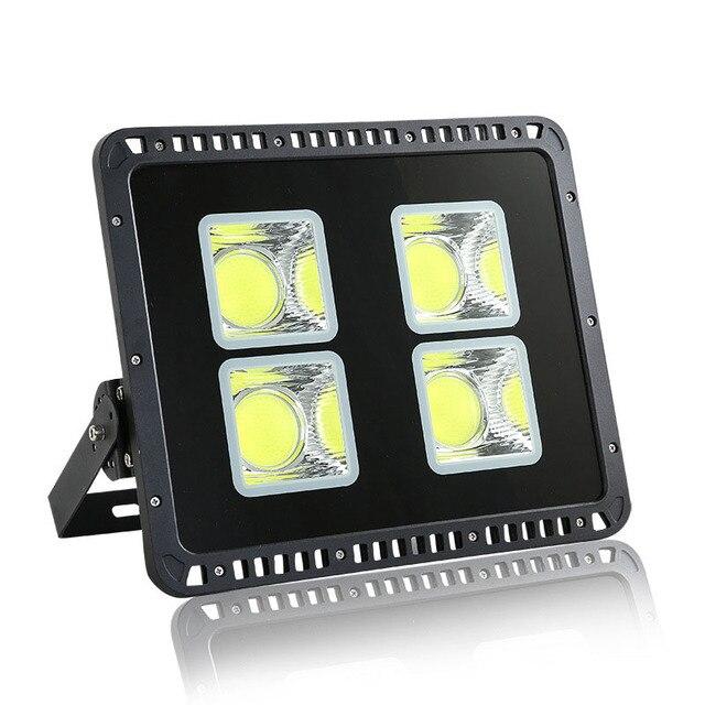 Светодиодная лампа 200 Вт 300 Вт 400 Вт 500 Вт отражатель прожектор AC 85-265 в водонепроницаемый наружный настенный светильник проекторы