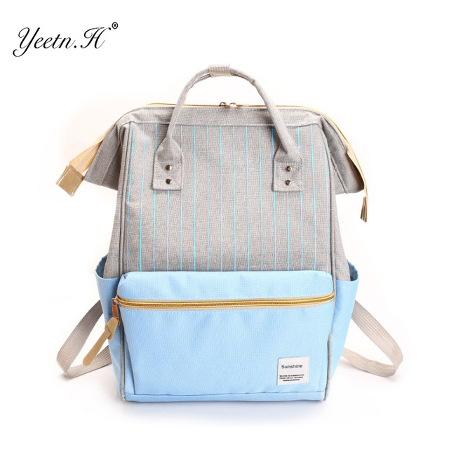 H Women Canvas Backpack Famous Brand Fashion Women Backpack School Bags  Girls Travel Portable Backpack Y926 e6c337409212e