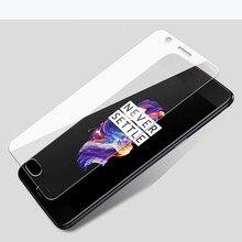 TUKE 2 unids/lote Protector de pantalla para One Plus OnePlus 3 5 5T 6 A3000 A5000 película protectora de vidrio templado con paquete al por menor