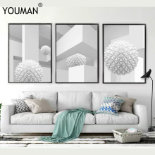 3D photo wallpaper Poster Abstract art Home Decor Unframed restaurant retro sofa backdrop 3d wall painting