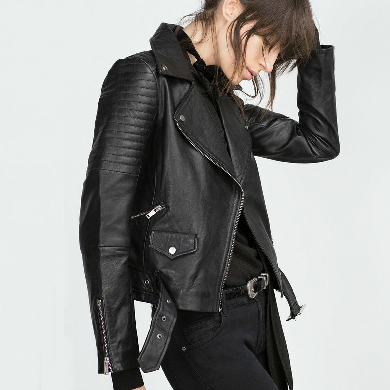 Faux Leather Jacket Ladies Promotion-Shop for Promotional Faux ...