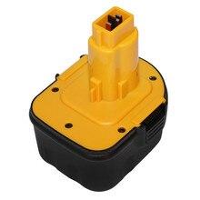 Para Ferramentas Eléctricas DeWalt DE9071 12 V 2500 mAh Bateria Recarregável Baterias para Broca DE9074 DE9075 DE9501 Ni-MH DC9071 DE9037