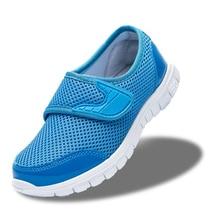 Удобная детская спортивная shoes boys shoes mesh shoes весна лето девушки случайные shoes дыхания воздух сетки мода дети кроссовки