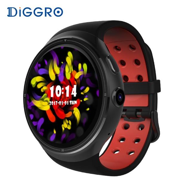 Diggro DI06 Смарт-часы 1 ГБ 16 ГБ Android 5.1 MTK6580 сердечного ритма Смарт часы Bluetooth WI-FI GPS SIM SmartWatch для iOS и Android