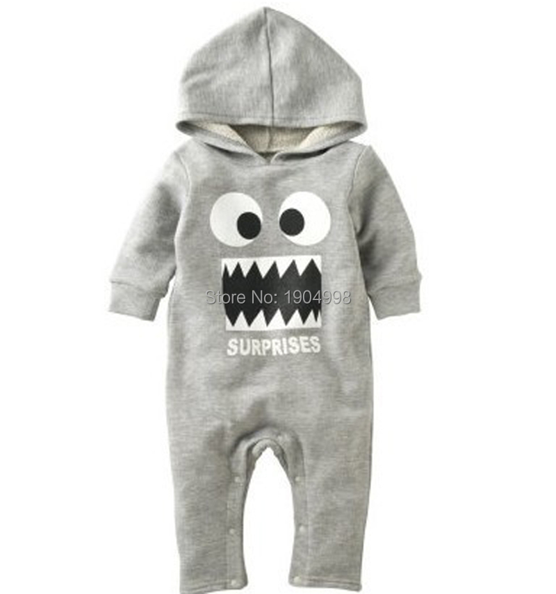 18bbee62544 2015 funny baby clothes halloween costumes hoody romper autumn winter infant  creepers baby boys snow suit unisex cotton coverall baby