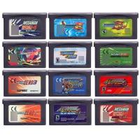 Série Megaaman 32 Bit Cartão Cartucho de Videogame de Console