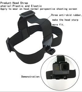 Image 3 - חיצוני חגורת בעל להקת ראש עבור הטלפון הסלולרי רתם רצועה קליפ מחזיק הר חצובה עבור מצלמה GOPRO xiaoyi במקום iPhone 6