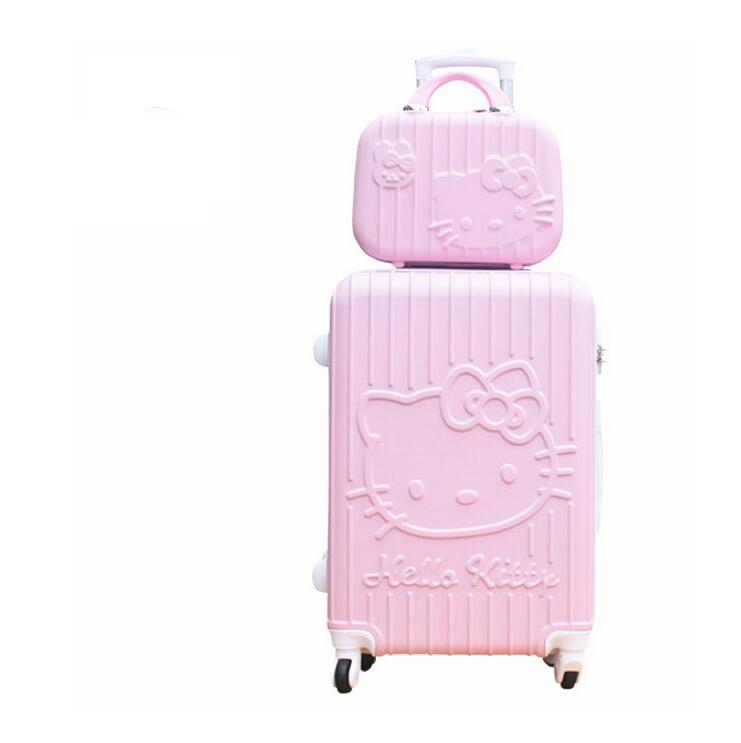 20 24 Women Travel Luggage Case Spinner Suitcase Men Travel Rolling Case Wheels Lady Travel Wheeled Suitcase Trolley Bag