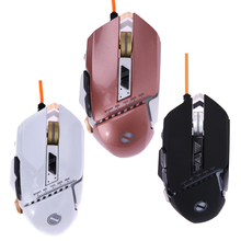 7 Color 8 Programmable Buttons 3200DPI G40 Optical Computer Laptop Gamer Mouse USB Wired Gaming Mouse game mice
