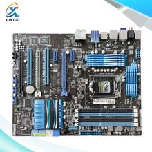 For Asus P8P67 PRO Original Used Desktop Motherboard For Intel P67 Socket LGA 1155 For i3 i5 i7 DDR3 32G SATA3 USB3.0 ATX