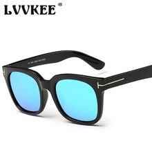 2017 New Fashion LVVKEE Polarized Sunglasses Men Brand Designer Tom Sun Glasses For Women TR90 TF Eyewear UV400 Lentes De Sol