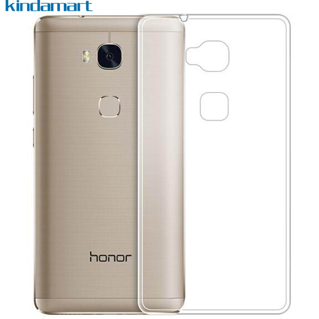 US $1 99 |for Huawei GR5 case Honor 5X cover slim anti watermark silicon  grip transparent clear crystal case for Huawei Honor 5X X5 GR5-in Fitted