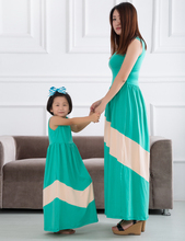 baby girl long dress family dress of five color