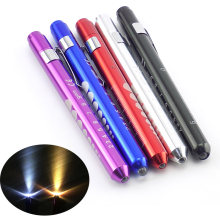 Mini Medische Chirurgische Verpleegster Penlight Zaklamp Pen Light Torch Emergency Herbruikbare Pocket mond oor zorg ehbo lamp(China)