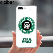 Star Wars Themed Soft Silicon Cases for iPhone X 8 7 6 Plus 5S SE