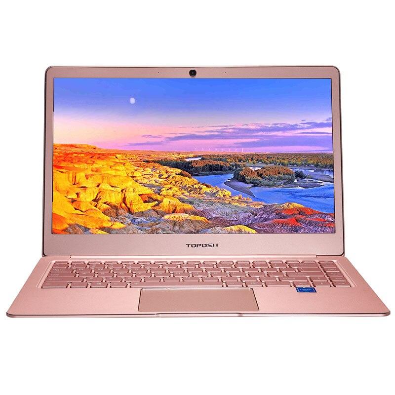 TOPOSH (P9-01) laptop 14 inch 6GB RAM 512GB SSD Windows10 1920X1080P Intel quad coreJ3455 fashion laptop mi notebook