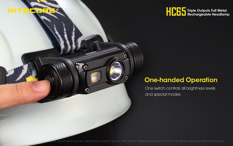 Nitecore HC65 1000 Lumens Rechargeable Headlamp (23)