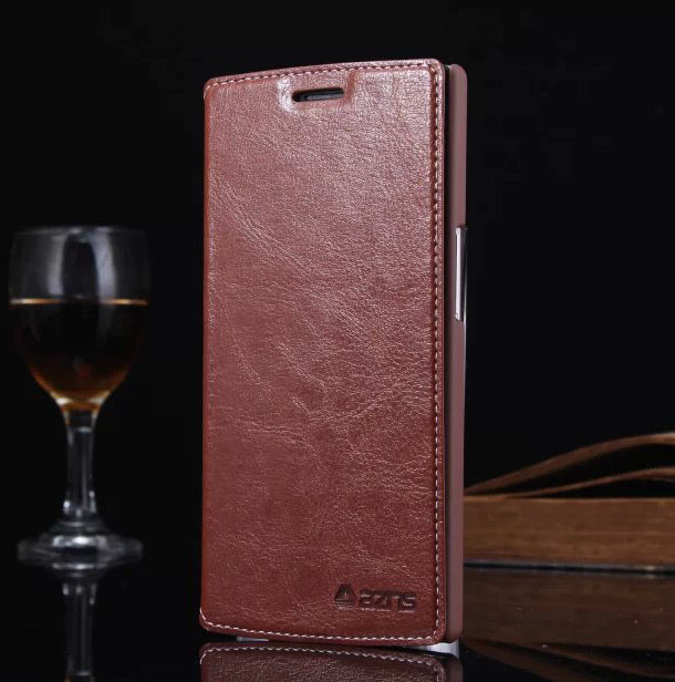 Leather Phone Case OPPO Find 7 / Find7 Hight Quality Cover Oppo Card Holder - HON ELECTRONICS CO LTD store