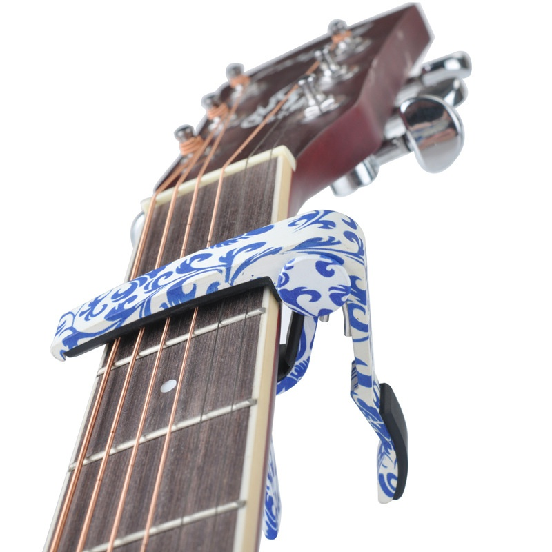 Wood Guitar Adjustment Clip Brand New MA-12 Capo 6-String Acoustic Guitar Capo Zinc Alloy For Acoustic Electric Guitars 4 Colors