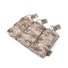Genuine FLYYE MOLLE EV Universal Triple Mag Pouch In stock Military camping modular combat CORDURA M025