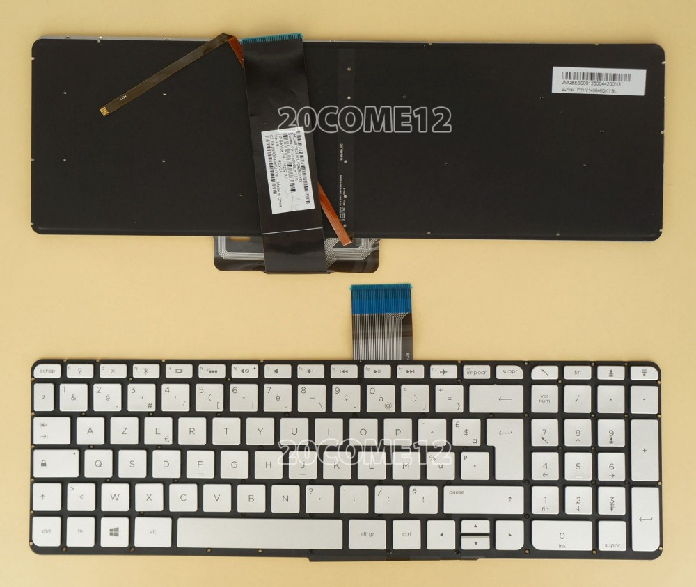 New notebook Laptop keyboard for  HP  ENVY X360 15-u000 15t-u100  backlit Fr / french  layout agie reversion roller 323 334 edm parts agie parts wire edm machine spare parts