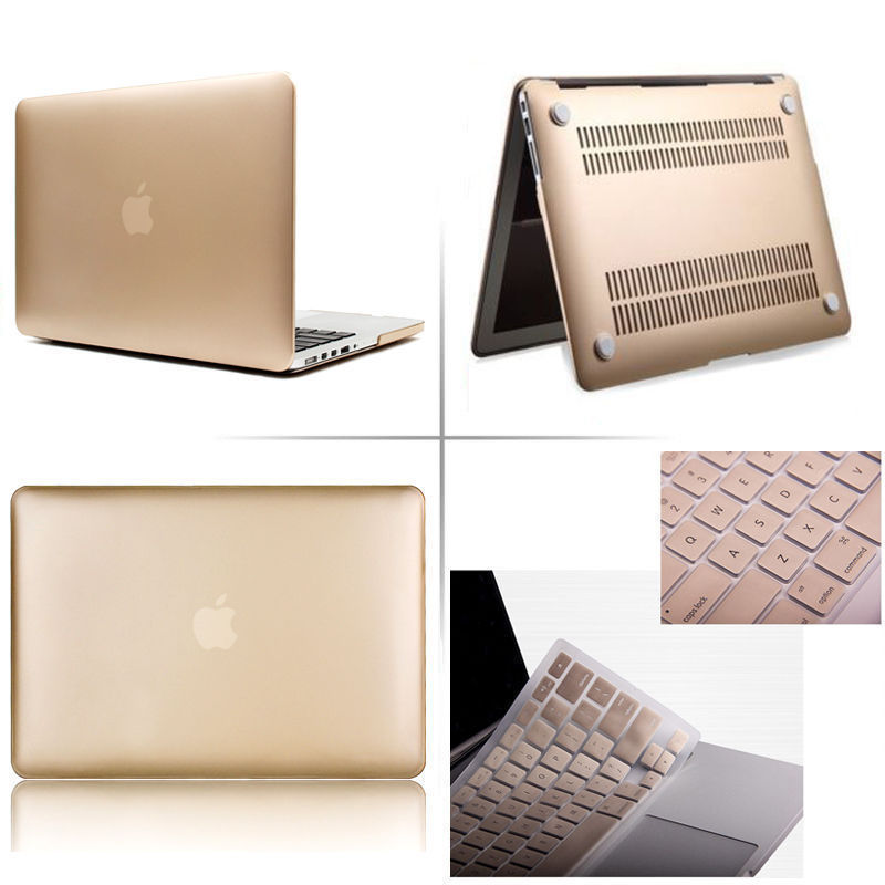 Smooth Surface Laptop Hard Case For All 13 13.3 Inch Apple Macbook Air 13 Pro Retina Touch Bar 13 Give The Keyboard Cover