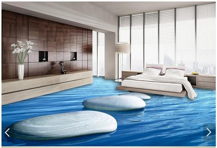 ФОТО 3d wallpaper customized 3d flooring painting wallpaper murals 3 d pebbles fresh sea floor painting living room photo wallpaer
