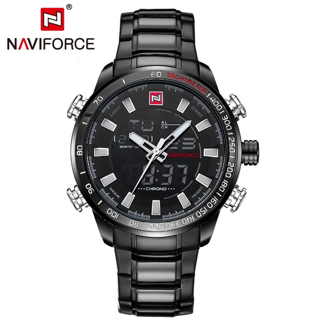 Quartz Wristwatch Mens