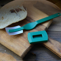 European Breads Arc Curved Knife Baguette Cutting Toas Cutter kitchen B aking Pastry Tools Pie Tools     -