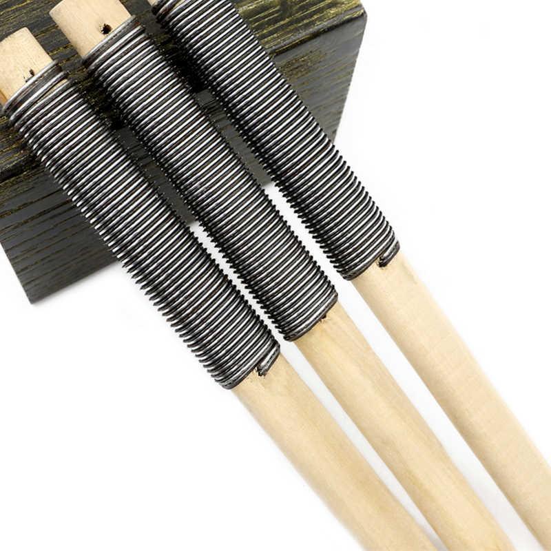 3ピース木材ファイル金属やすり粗い歯200/220ミリメートルハンドすり広葉樹研磨大工木工ツール