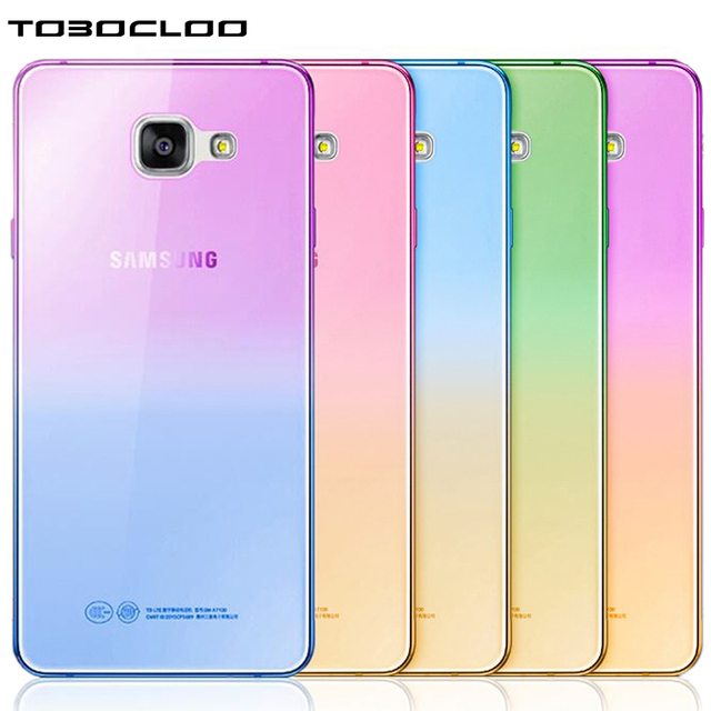 TOBOCLOO For Samsung Galaxy S3 S4 S5 S6 S7 edge S8 PLUS A3 A5 A7 2017 2016 j5 j7 j3 prime Transparent Clear Soft TPU Case Cover