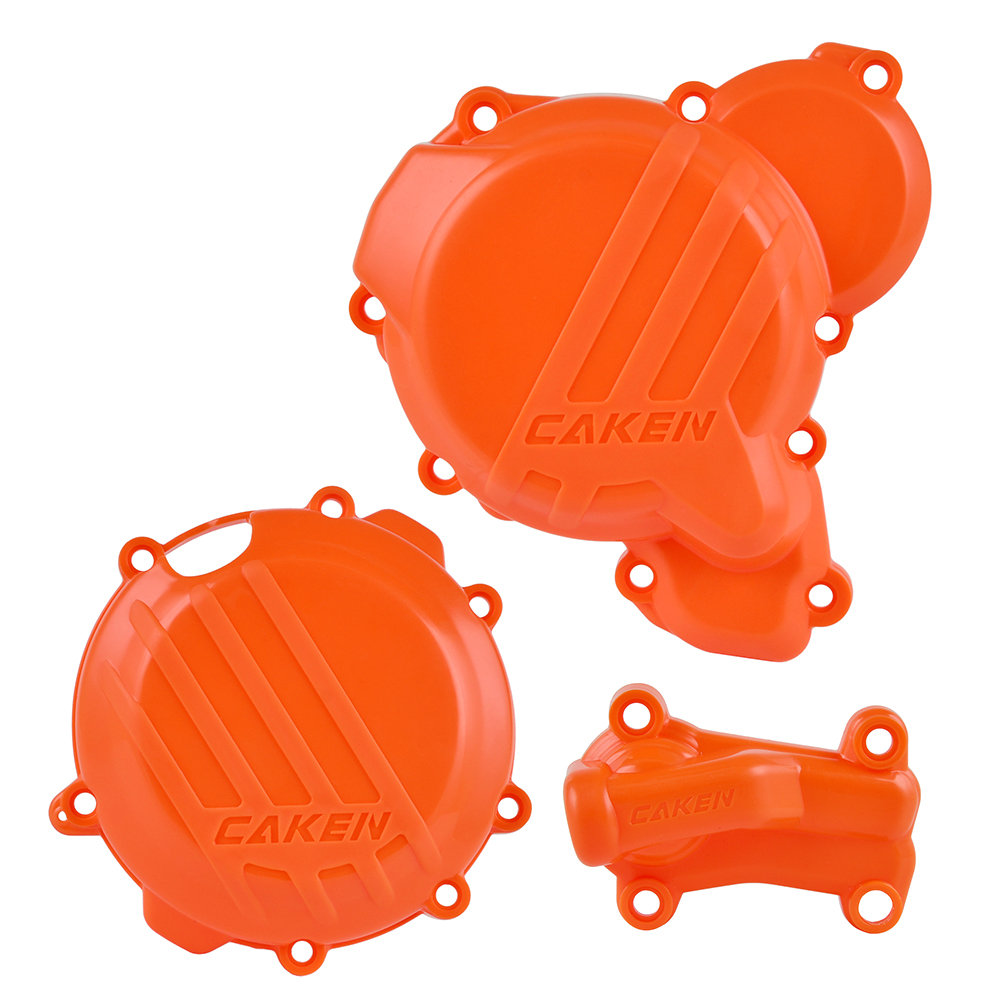 Clutch Guard Water Pump Cover Ignition Protector For KTM SX XC XCW XC-W TPI Six Days For Husqvarna TE TC TX 250 300 250i 300i