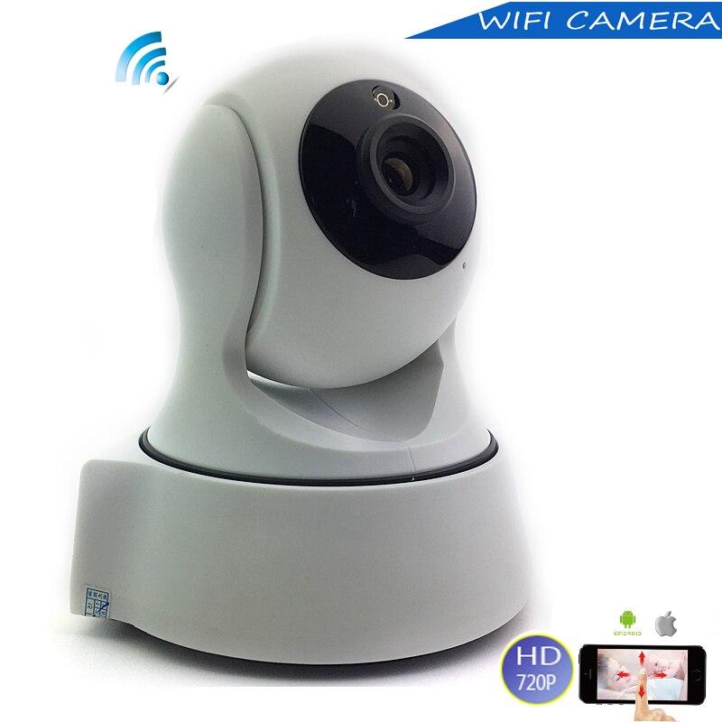 bilder für NEUE Heiße 720 P PTZ fernbedienung mini wifi Drahtlose Ip-kamera Pan/TILT 1.0MP webcam IR Nachtsicht usb-ladegerät CCTV Smart Kamera