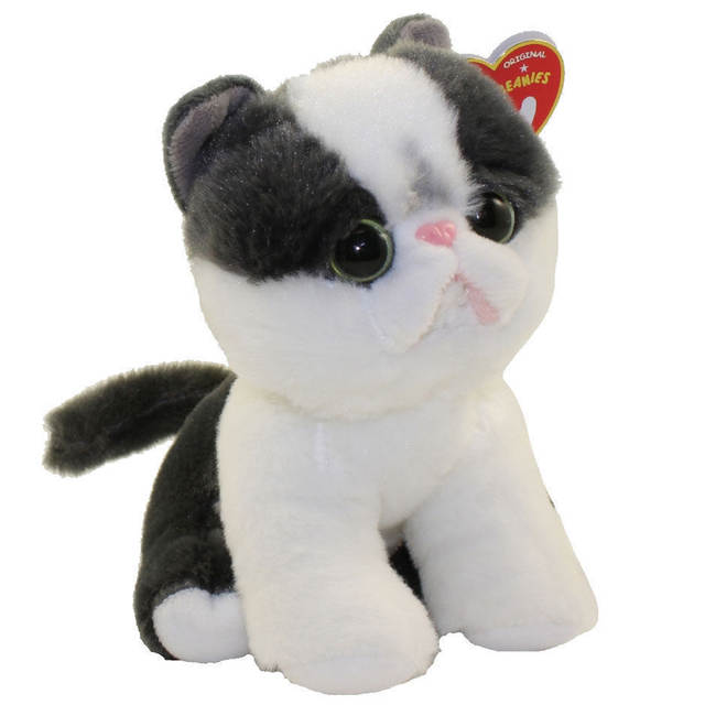 Online Shop Pyoopeo Ty Beanie Babies 6 15cm Yang The Black White