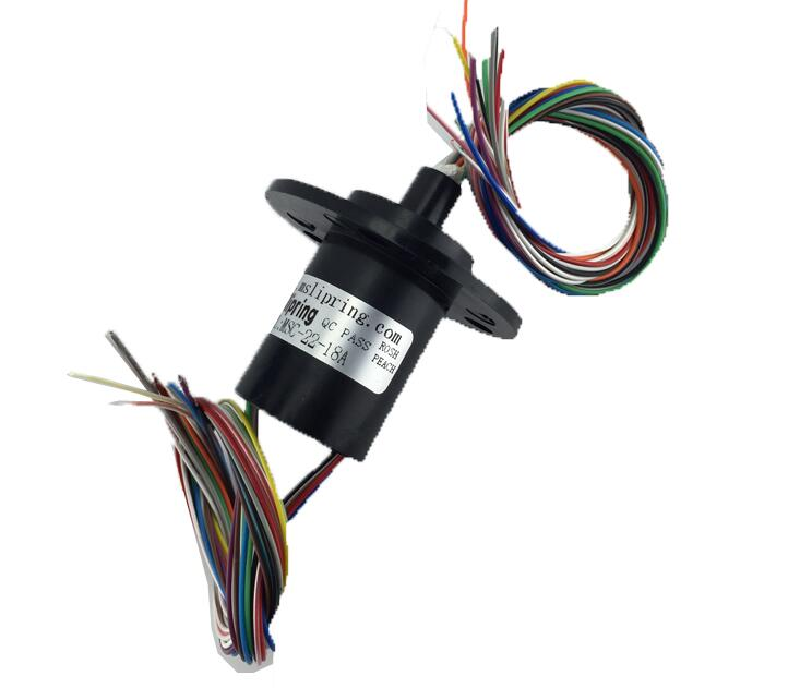Free Shipping M slipring slip ring Dia.22mm 18 Channel 2A MSC-22-18A Capsule Slip ring zsr022 3r20a capsule slip ring for automatic arm slip rings 3 channel 20a large current compact slip ring out dia 22mm