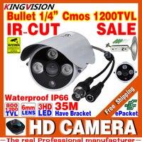 Real 1 3cmos 8 1200TVL Indoor Security CCTV AHDL Camera LED Home Video Surveillance IRCUT Hd
