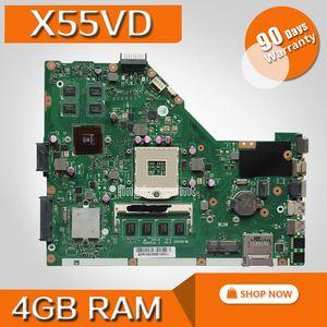 X55VD MB. _ 4G/AS GeForce GT610M 4 Гб RAM материнская плата REV 2,2 для ASUS X55V X55VD X55C материнская плата для ноутбука 100% протестированная Бесплатная доставка