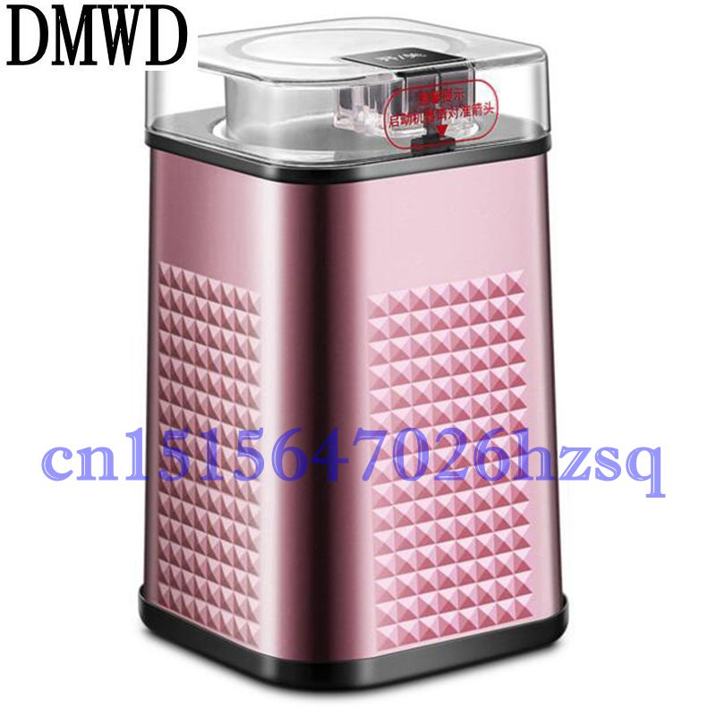 DMWD 150W 50g capacity Household Electric Mini Multifunctional Grinder baby food/coffee beans/seasoning/grains grinding machine dmwd household electric coffee grinder grains seasonings herbs cereal powder makers kitchen helper machine