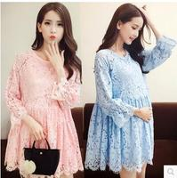 M & c lente zwangere vrouw moederschap jurken kleding kleding nieuwe vrouwen dress top lente zomer fashion modellen